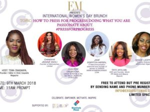 Exquisite Magazine International Women's Day  brunch March 2018